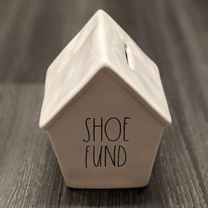 Rae Dunn SHOE FUND Piggy Bank